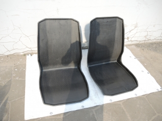 Комплект спортивных сидений из карбона