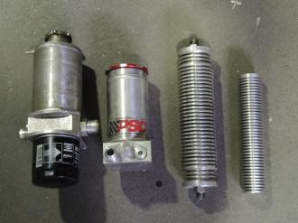 бачек и радиатор рулевого управления