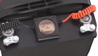 Контроль состояния аккумулятора (авто)