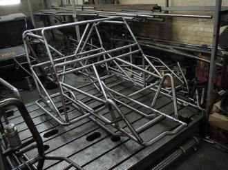 Пространственная рама прототипа ТР3.
