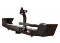 Бампер задний РИФ УАЗ Патриот с фаркопом и калиткой стандарт