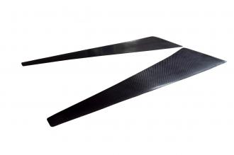 Комплект накладок крыльев из карбона